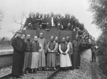 1909年中國設計的第一條鐵路通車