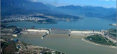 三峡大坝全景-长江经济带综合立体交通走廊展望
