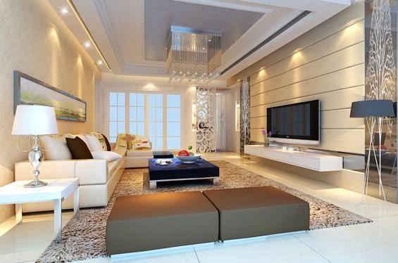 简单改造沙发背景墙 成就家居亮丽风景