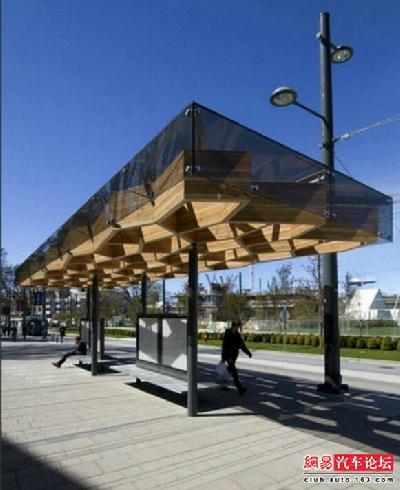 扒一扒全球最具创意公交车站